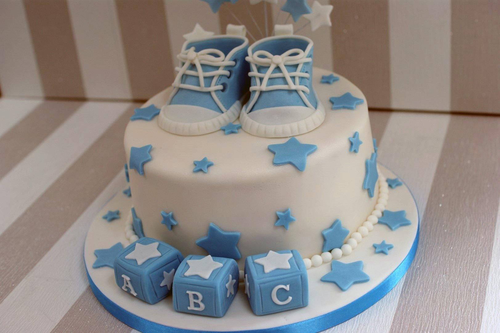 10 Elegant Baby Shower Cake Ideas Boy