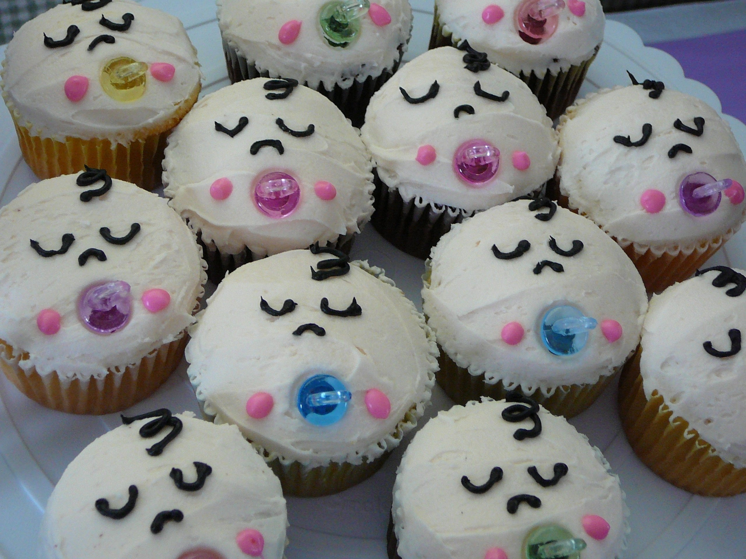10 Famous Baby Shower Cupcake Decorating Ideas baby shower cakes baby shower cupcakes decorations 2021