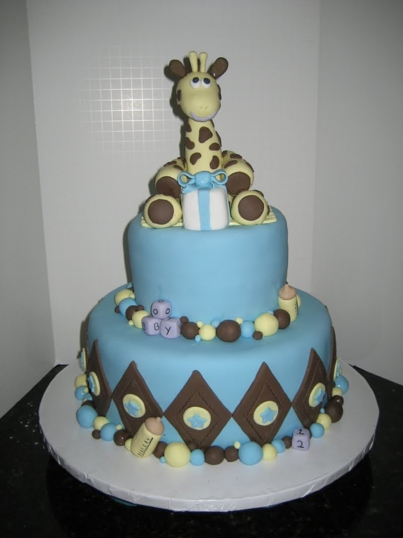 10 Amazing Baby Shower Boy Cake Ideas baby shower cakes images of boy baby shower cakes 2020