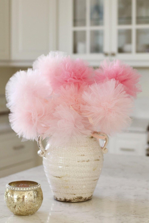 10 Fashionable Girl Baby Shower Centerpiece Ideas baby shower centerpiece pink ombre baby shower decorations 2020