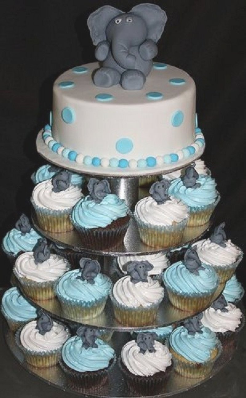 10 Trendy Baby Shower Cupcake Ideas For A Boy baby shower cupcake cake ideas boy diabetesmang 1