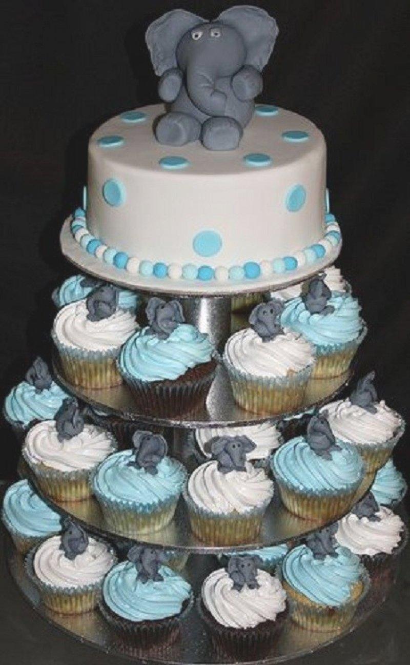 10 Fantastic Boy Baby Shower Cupcake Ideas baby shower cupcake cake ideas boy diabetesmang