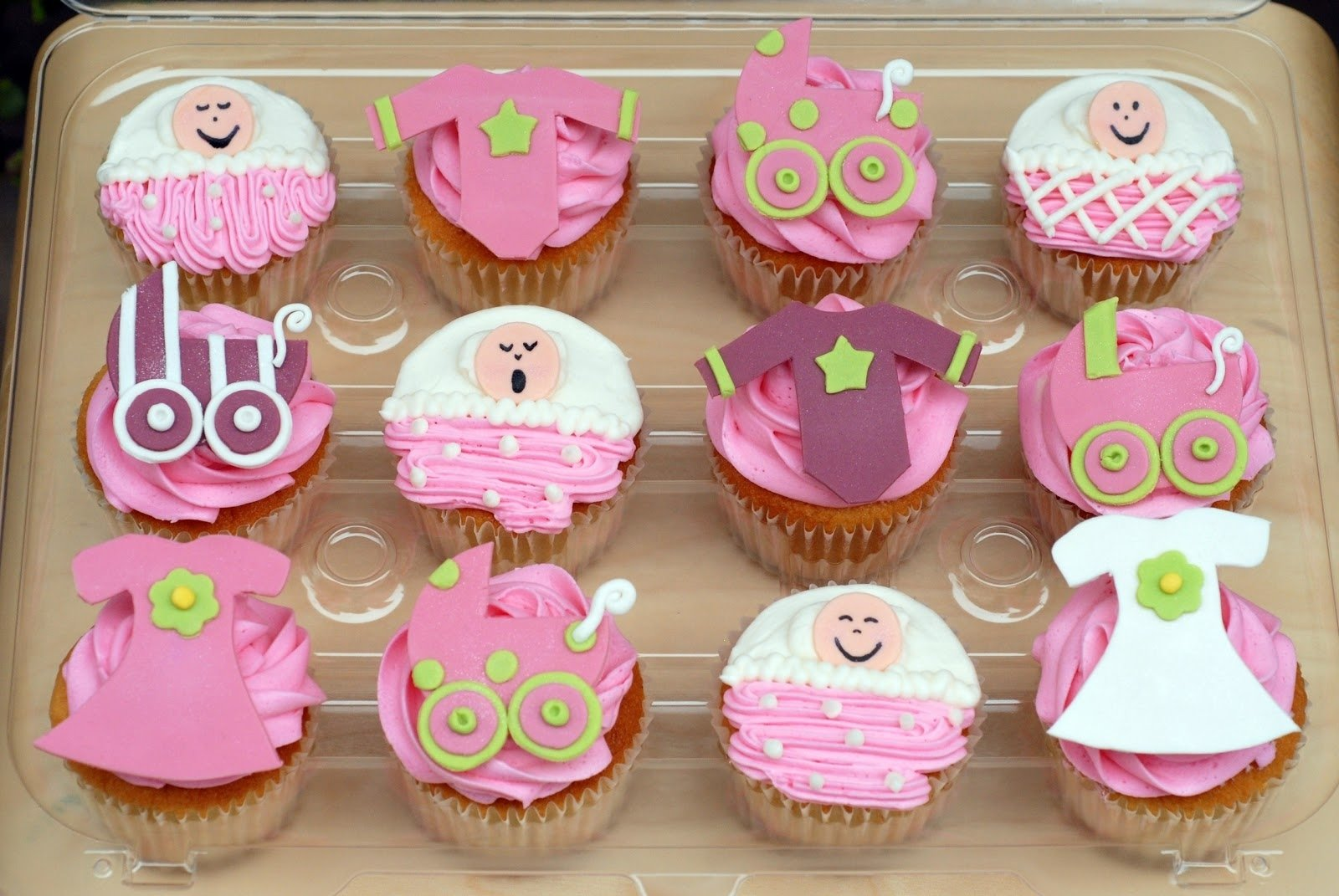 10 Perfect Girl Baby Shower Cupcake Ideas baby shower cupcake ideas 1 2021