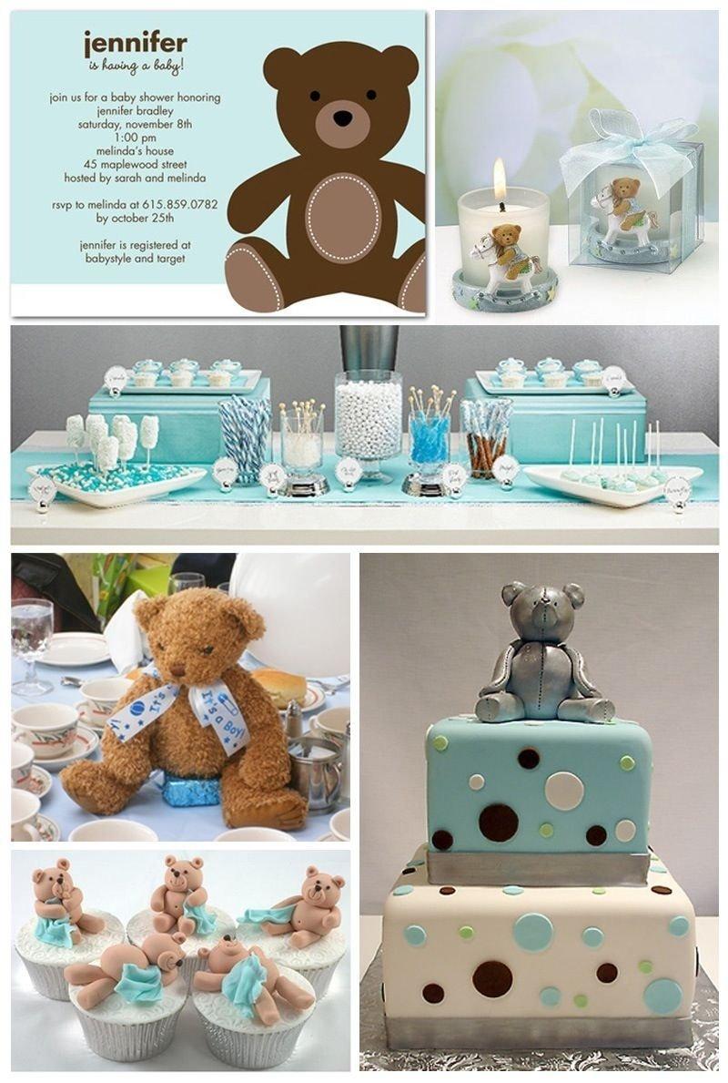 10 Fantastic Teddy Bear Baby Shower Ideas baby shower decor baby shower ideas pinterest babies 2021