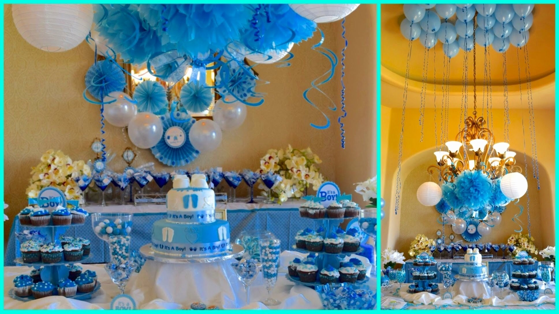 10 Elegant Baby Shower Decoration Ideas For Boys baby shower decoration ideas for a boy encouraging bedroom prince
