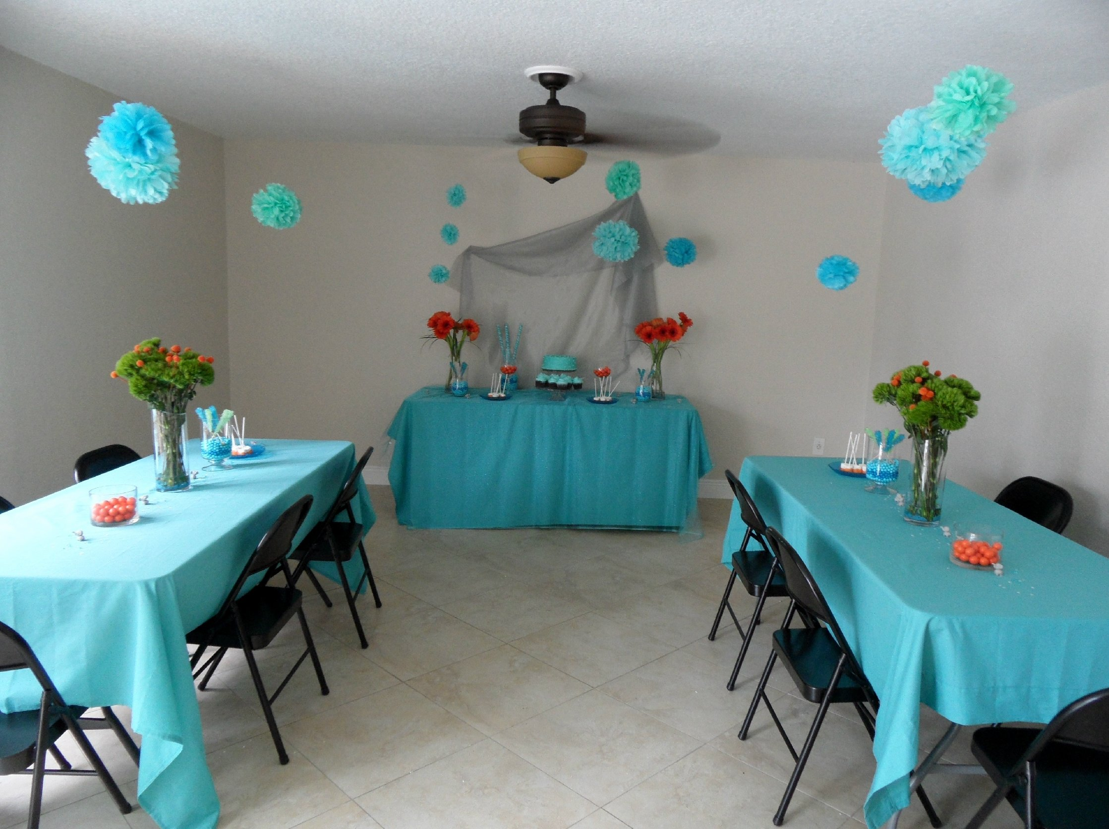 10 Amazing Baby Shower Ideas For Boy baby shower decoration ideas fory blue zebra decorations themes twin 2020