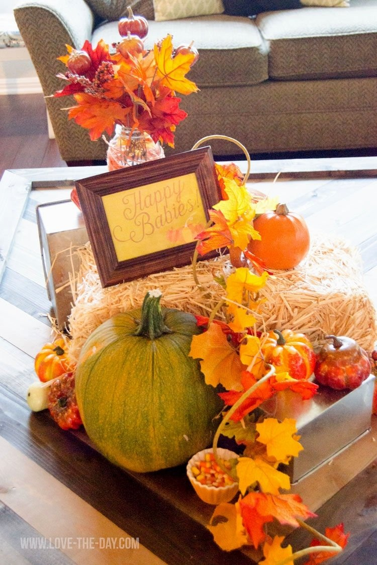 10 Gorgeous Fall Themed Baby Shower Ideas baby shower decorations ideas for fall decorating of party 2020