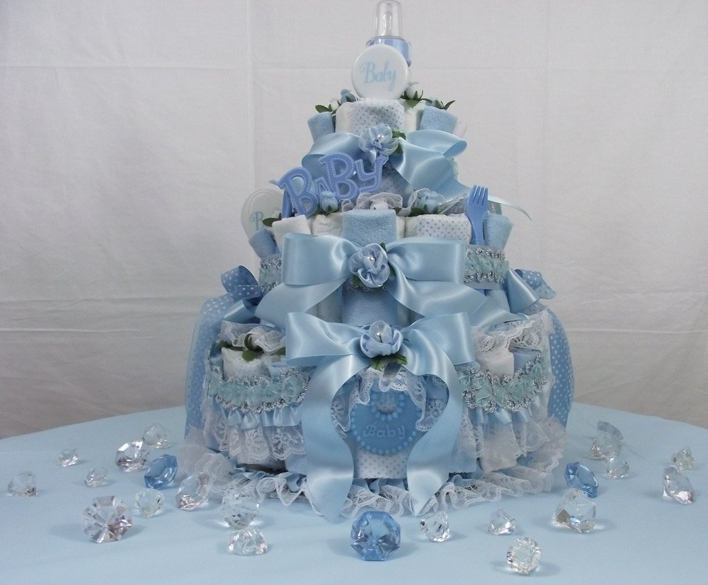 10 Cute Diaper Cake Ideas For Baby Boy baby shower diaper cake ideas boy omega center ideas for baby 1