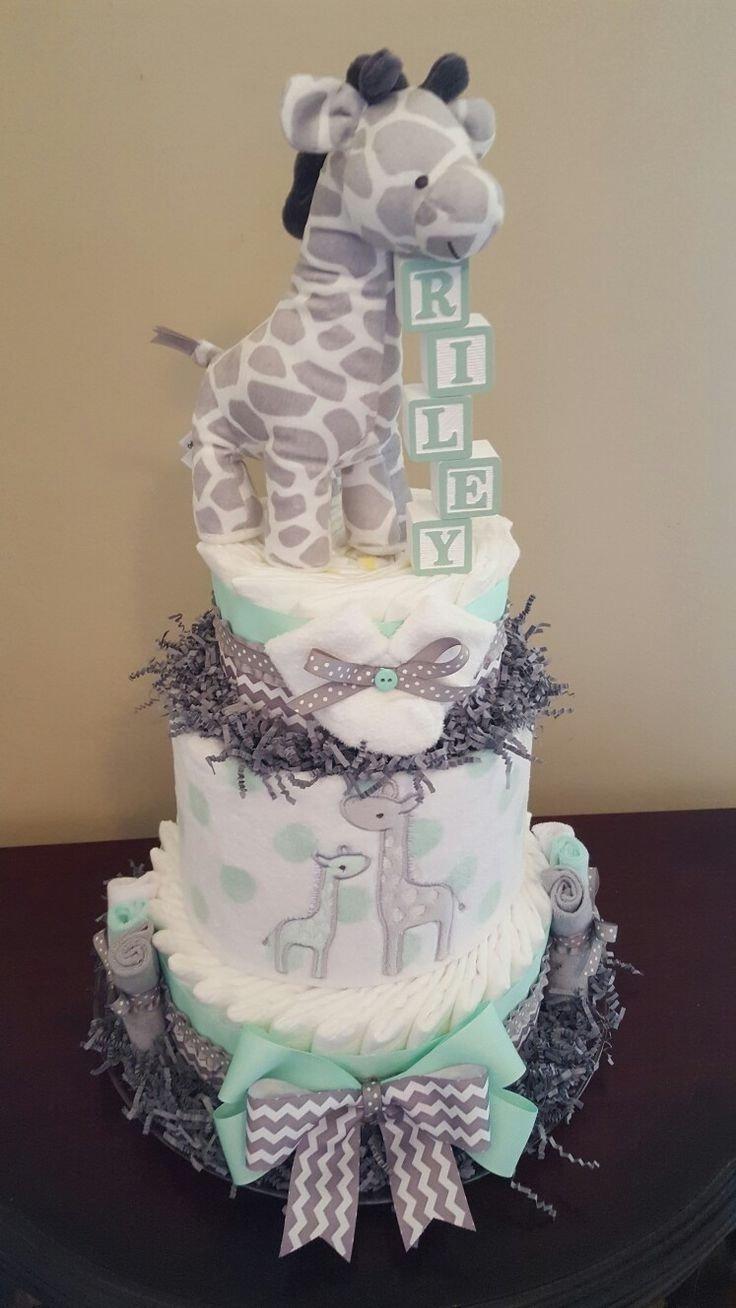 10 Fantastic Diaper Cake Ideas For Girls baby shower diaper cakes for girls baby showers ideas 2020