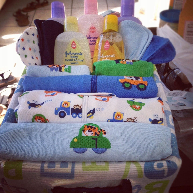 10 Beautiful Boy Baby Shower Gift Ideas baby shower diy gift basket boy gift ideas pinterest babies 5 2020