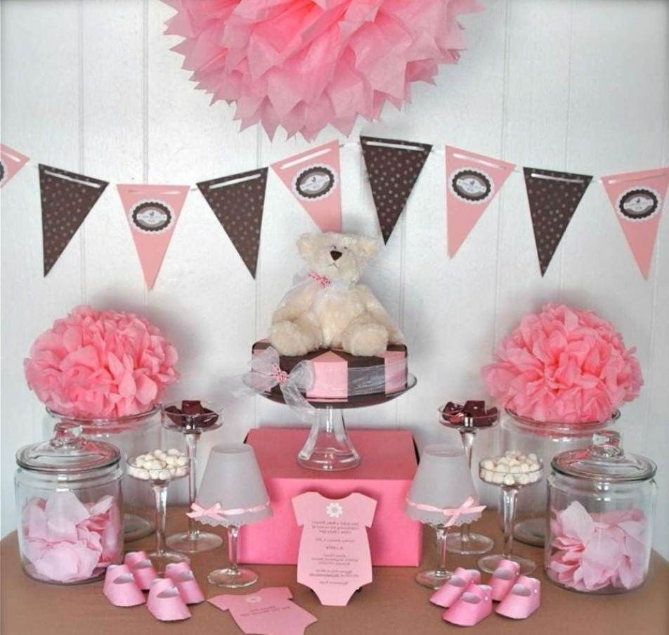 10 Unique Girl Baby Shower Decorating Ideas baby shower favors ideas for twin girls baby shower ideas 1 2020