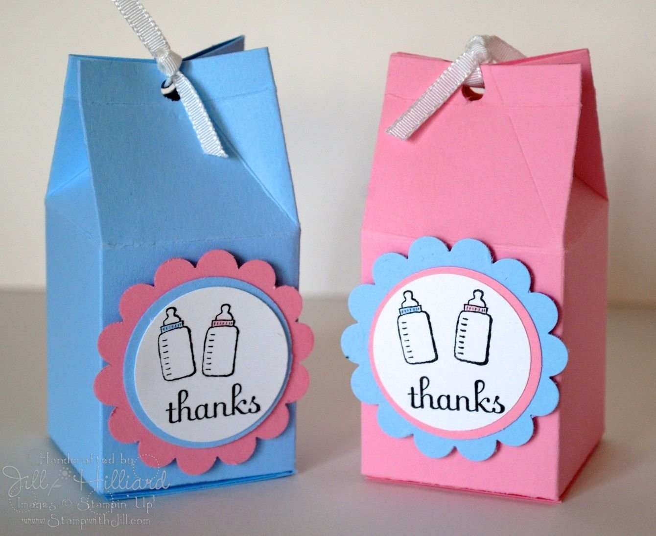 10 Elegant Ideas For Twin Baby Shower baby shower favors ideas google search crafts paper stamping 2021