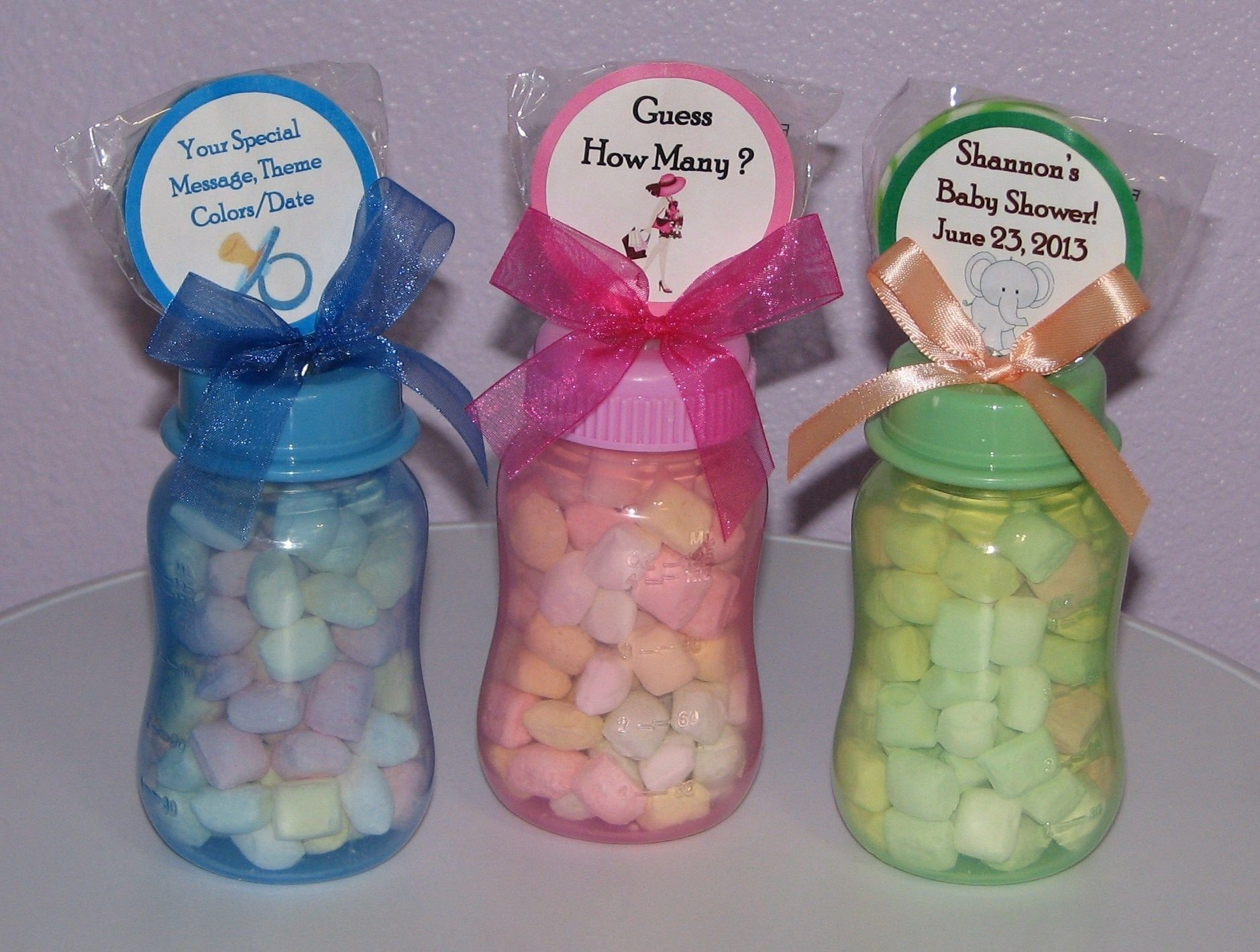 10 Attractive Baby Shower Favor Ideas To Make Yourself baby shower favors to make yourself baby bottle gifts for baby 2021