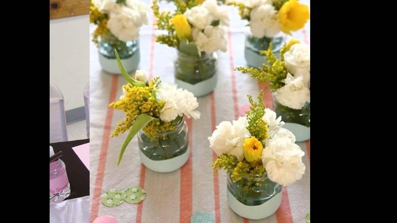 10 Fabulous Baby Shower Flower Centerpiece Ideas baby shower flower arrangement ideas youtube