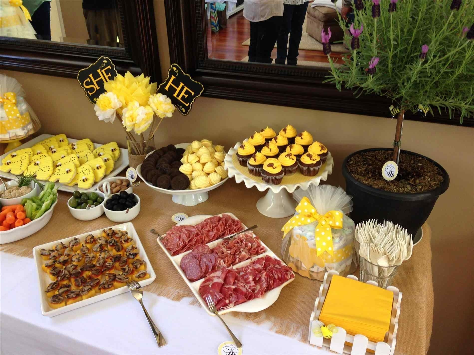 10 Gorgeous Baby Shower Food And Drink Ideas baby shower food and drinks shower ideas for a girl food drink 2021