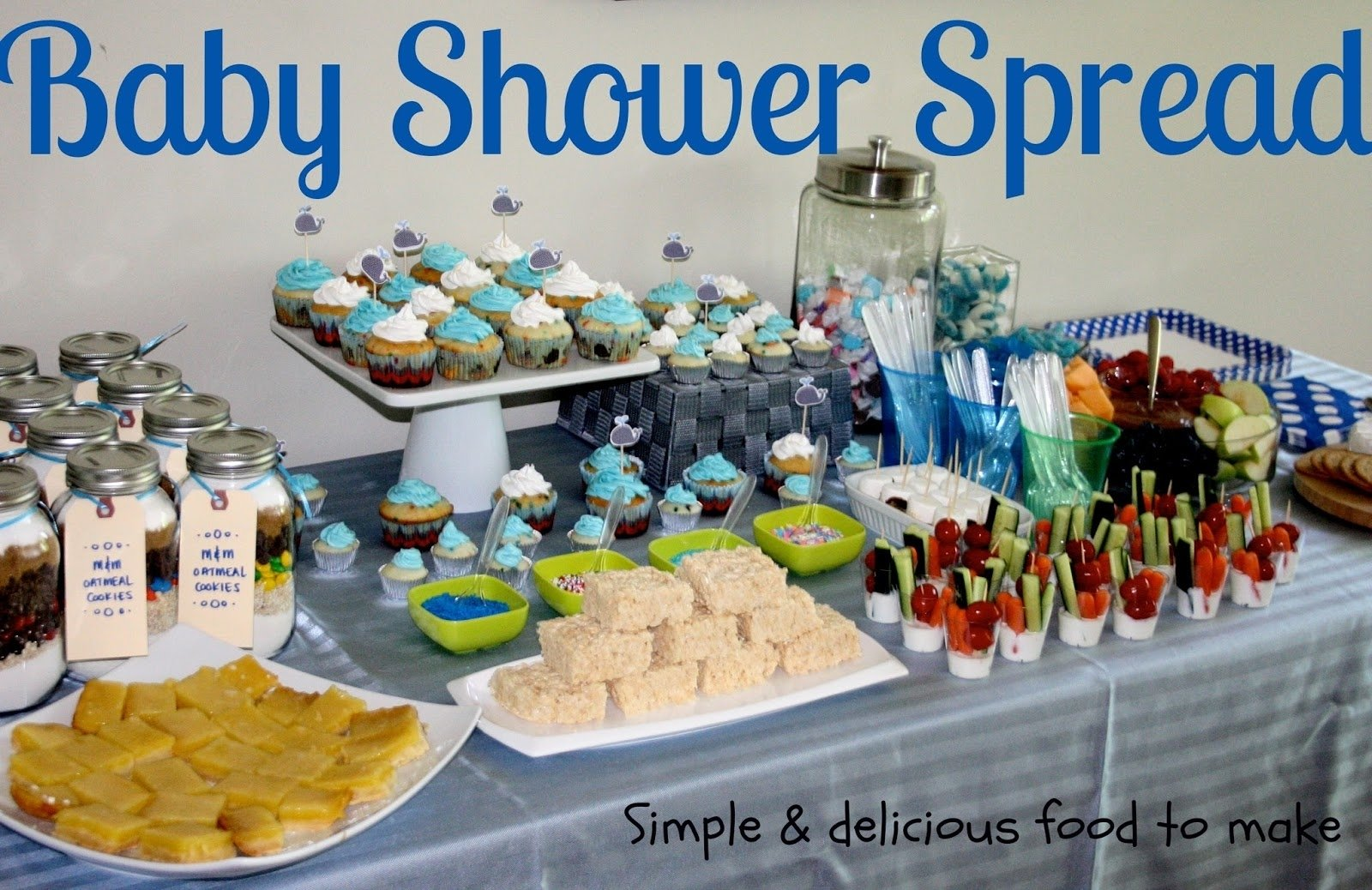 10 Spectacular Boy Baby Shower Food Ideas