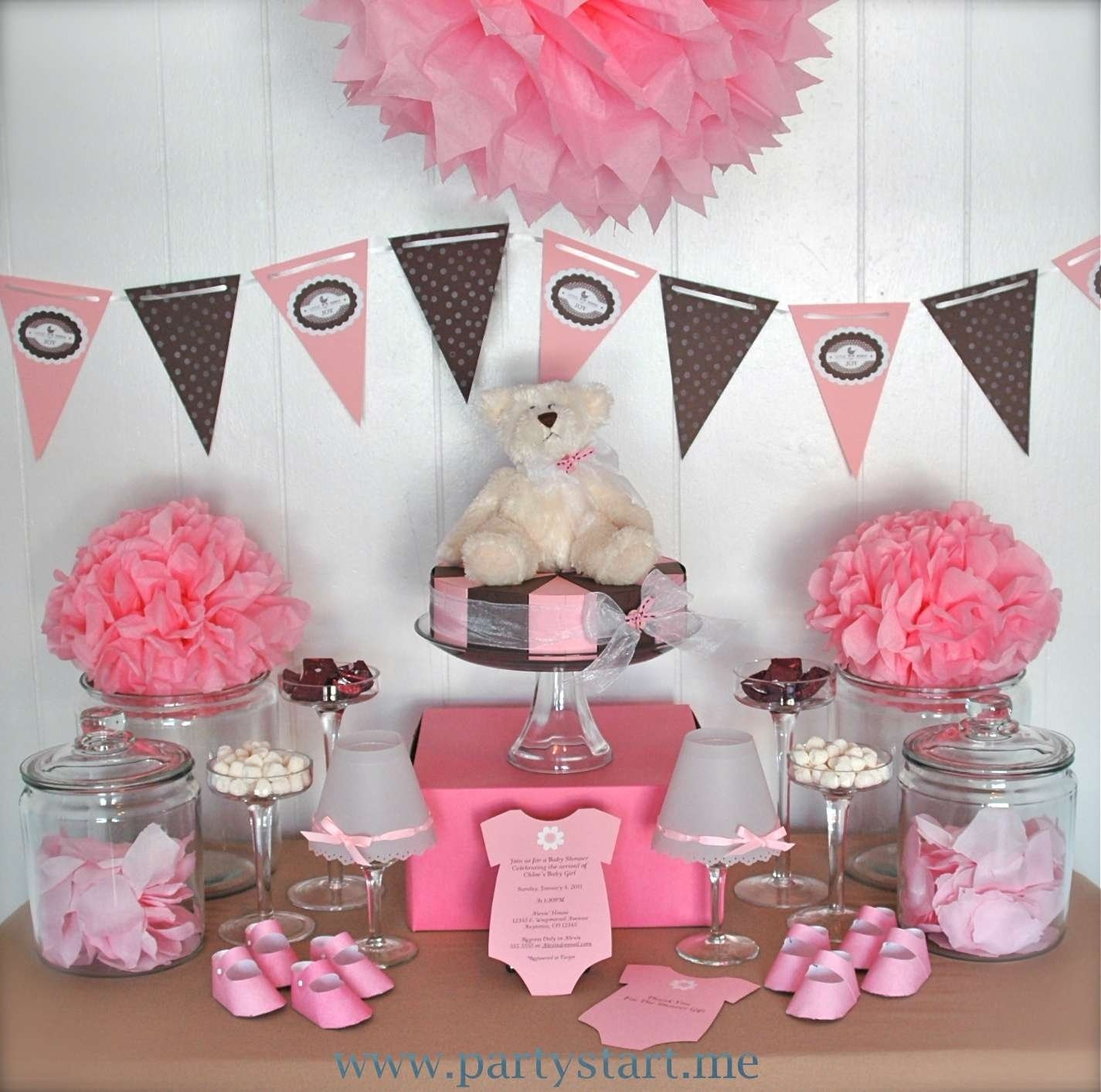 10 Nice Baby Shower Ideas For Girls Decorations baby shower food ideas monkey decorations cute clipgoo how to 1