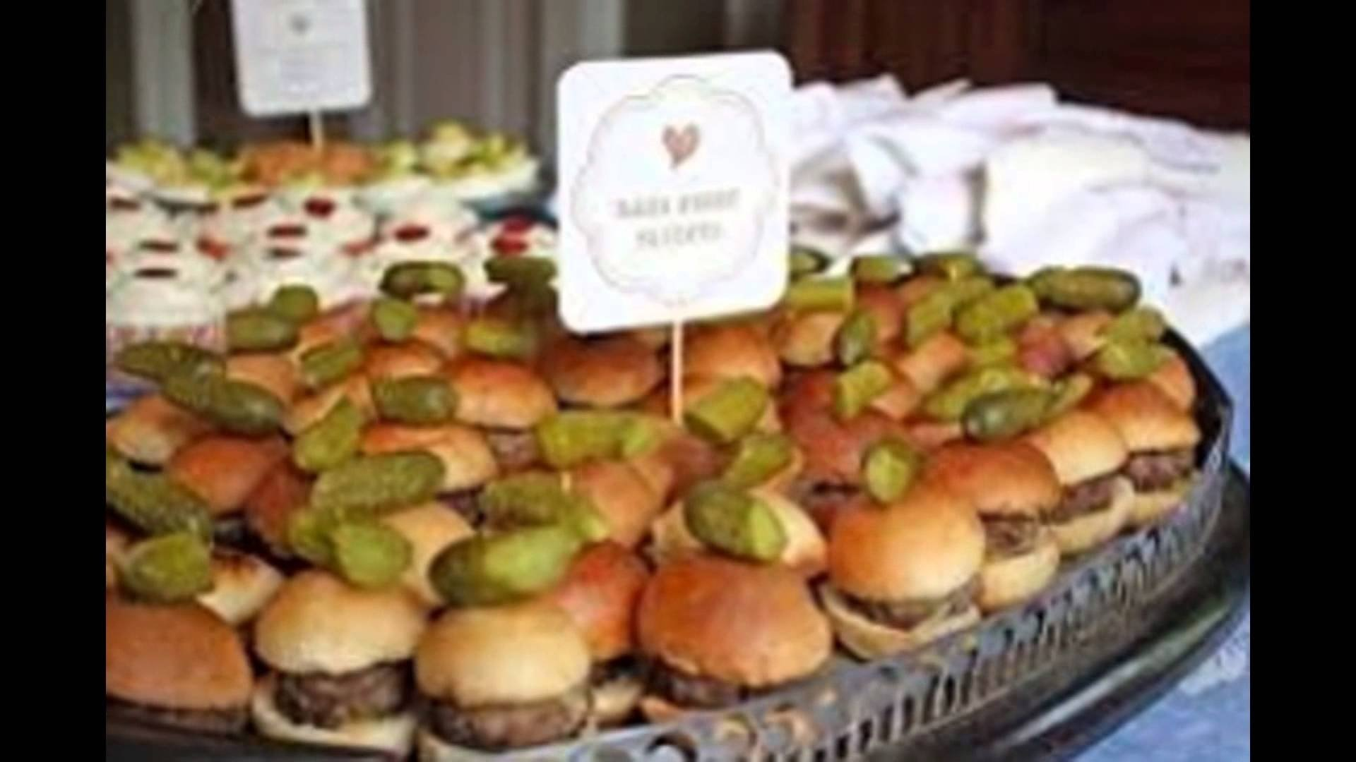 10 Stylish Food Ideas For A Baby Shower baby shower food ideas youtube 2020