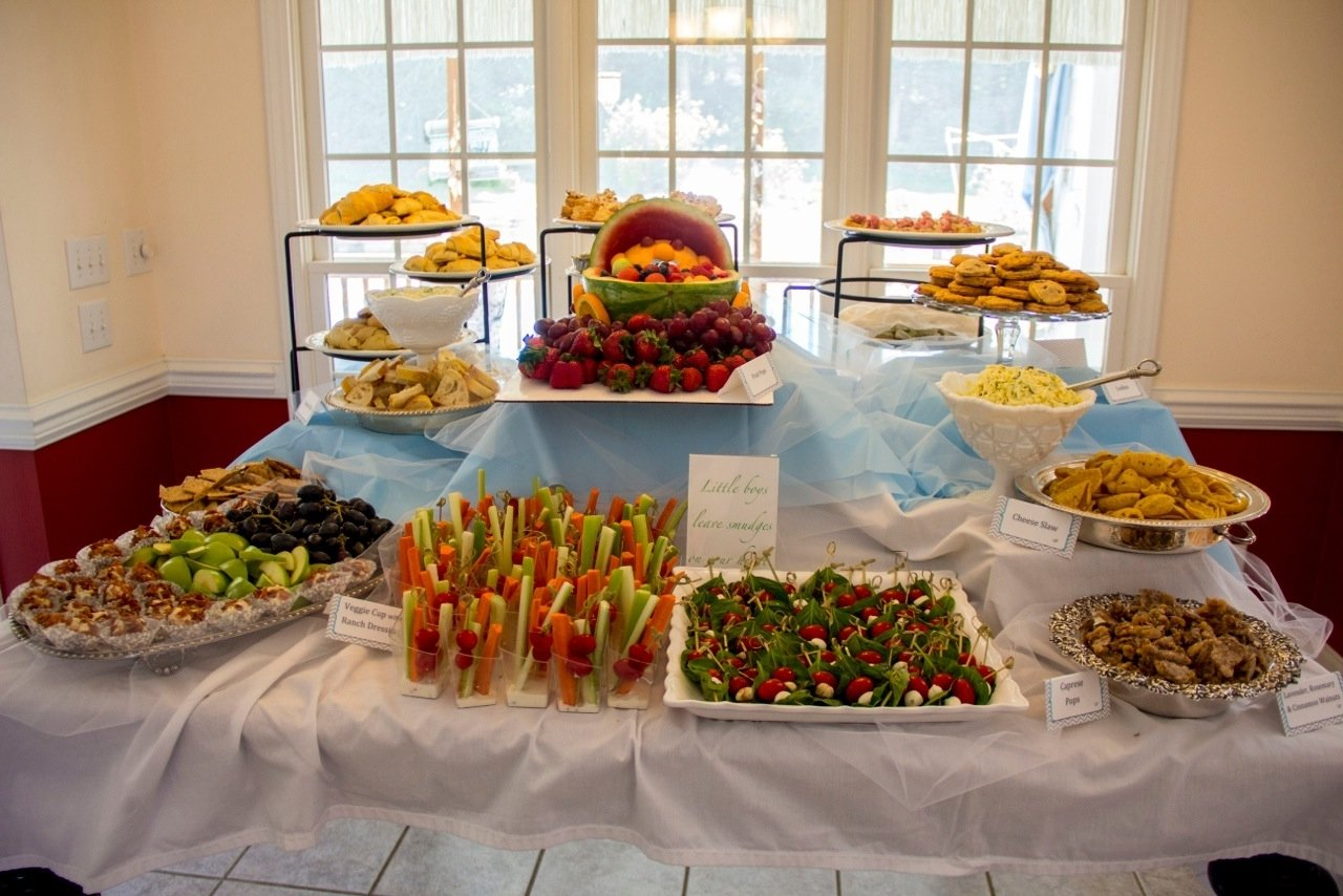 10 Nice Food Ideas For Baby Showers baby shower food table party ideas pinterest baby shower foods 2020
