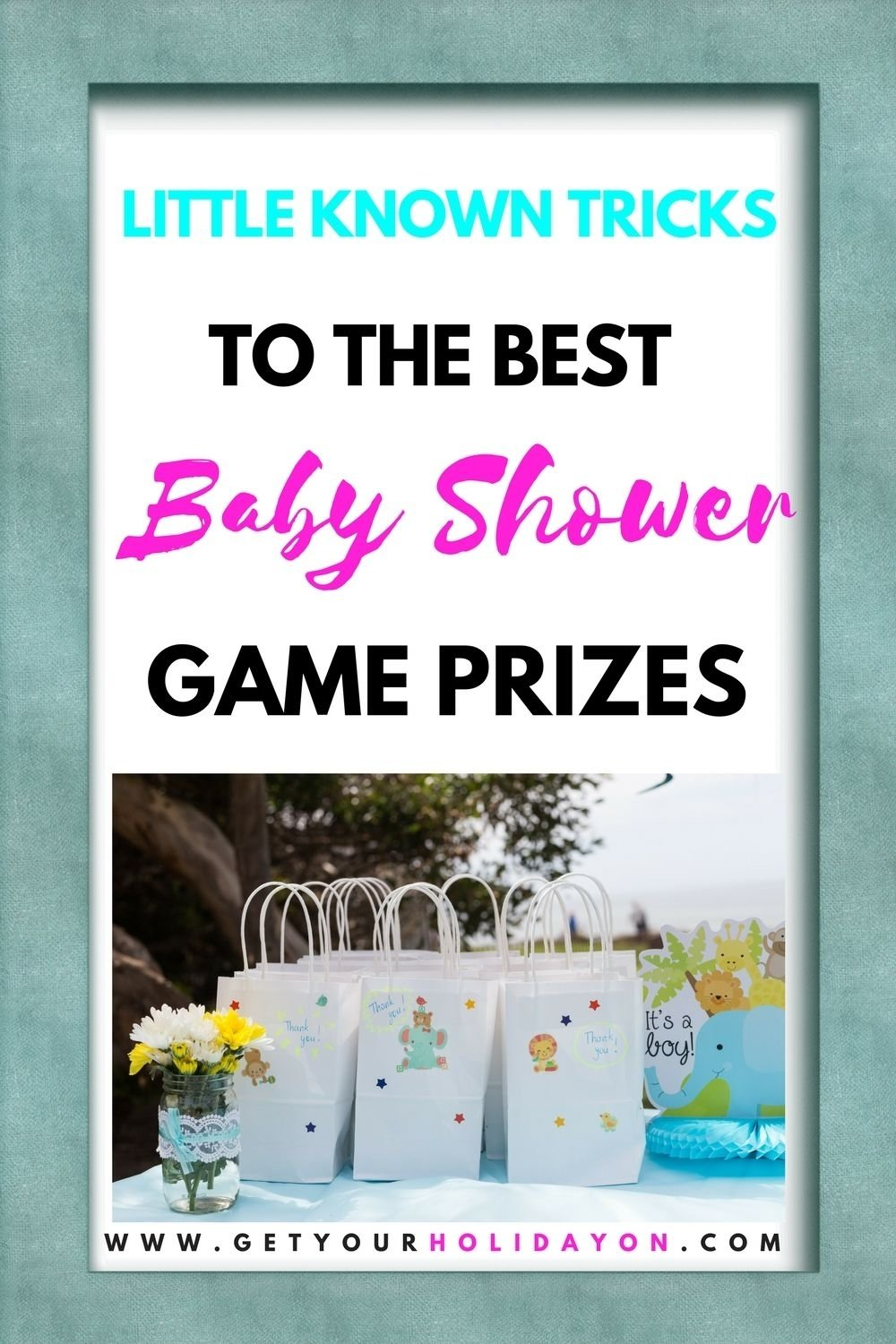 10 Ideal Ideas For Giving Away Door Prizes baby shower game prizes door prizes babyshower and baby shower 2020