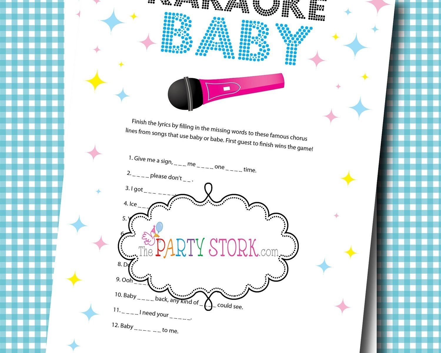 10 Fabulous Unique Baby Shower Games Ideas baby shower games ideas free printable and for large groups 2020