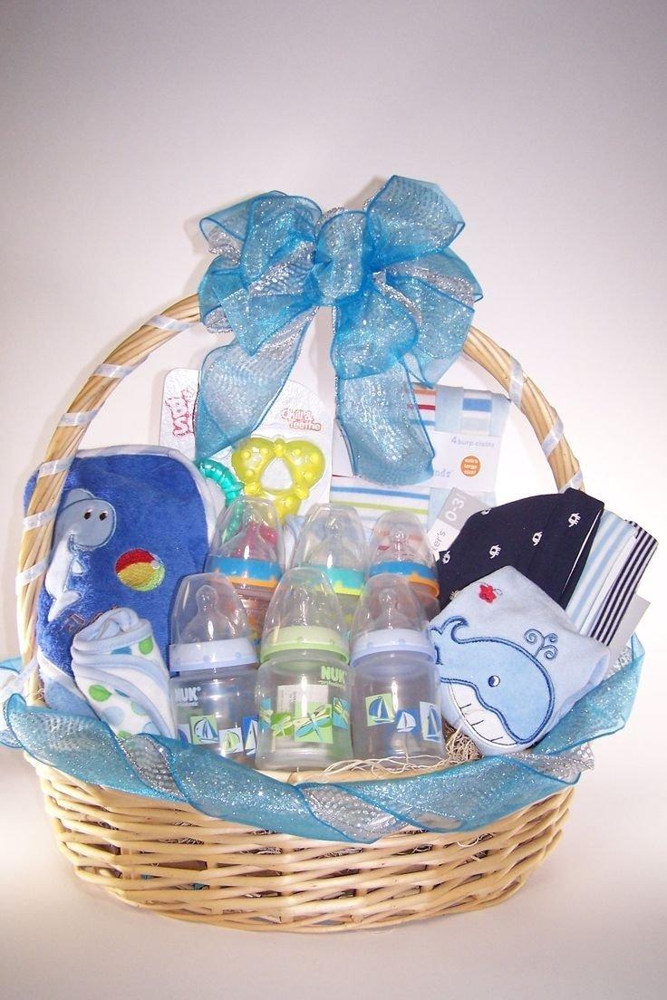 10 Stunning Baby Shower Gift Basket Ideas baby shower gift basket ideas for boy e280a2 baby showers design