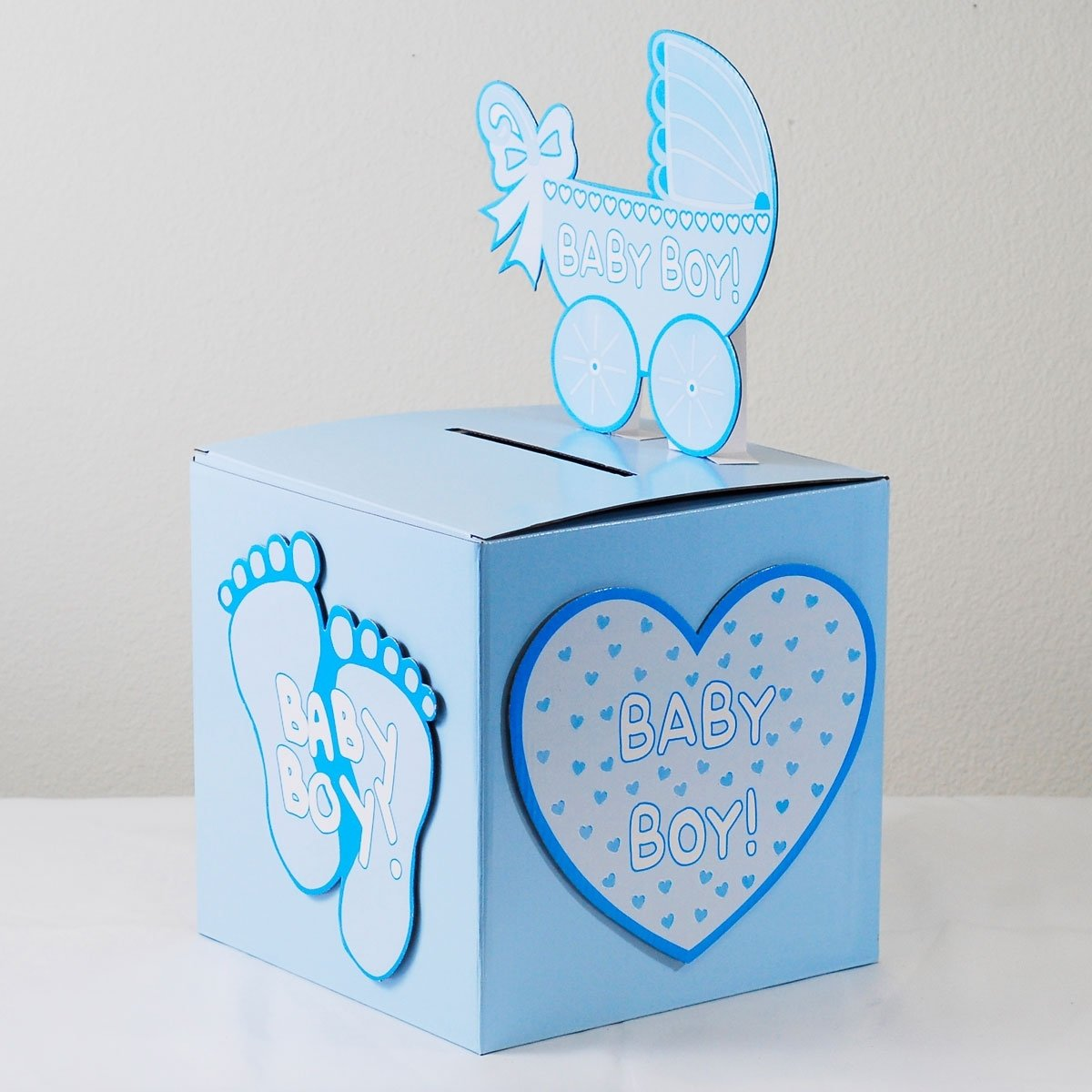 10 Fantastic Baby Shower Wishing Well Ideas baby shower gift card box ideas e280a2 baby showers ideas 2020