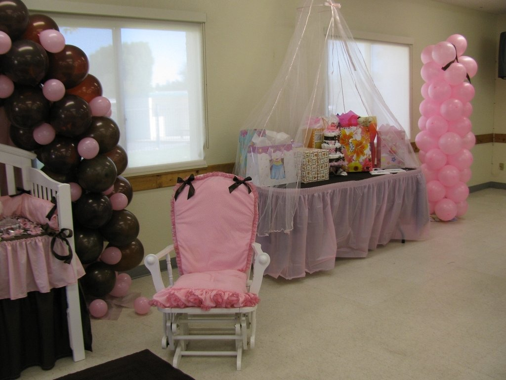 10 Fashionable Baby Shower Gift Table Ideas baby shower gift table rosie b flickr 2020