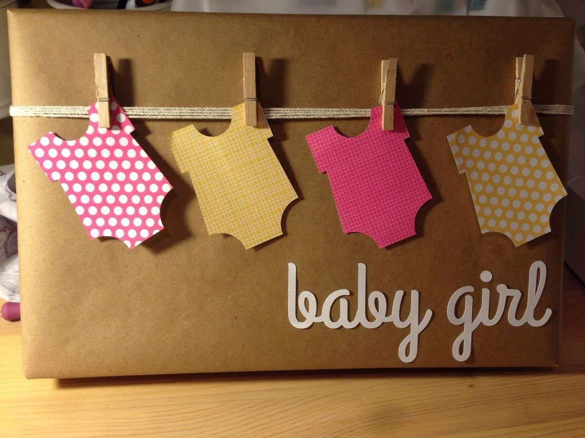 10 Gorgeous Gift Wrapping Ideas For Baby Shower baby shower gift wrap if any one knows the original source for 2020