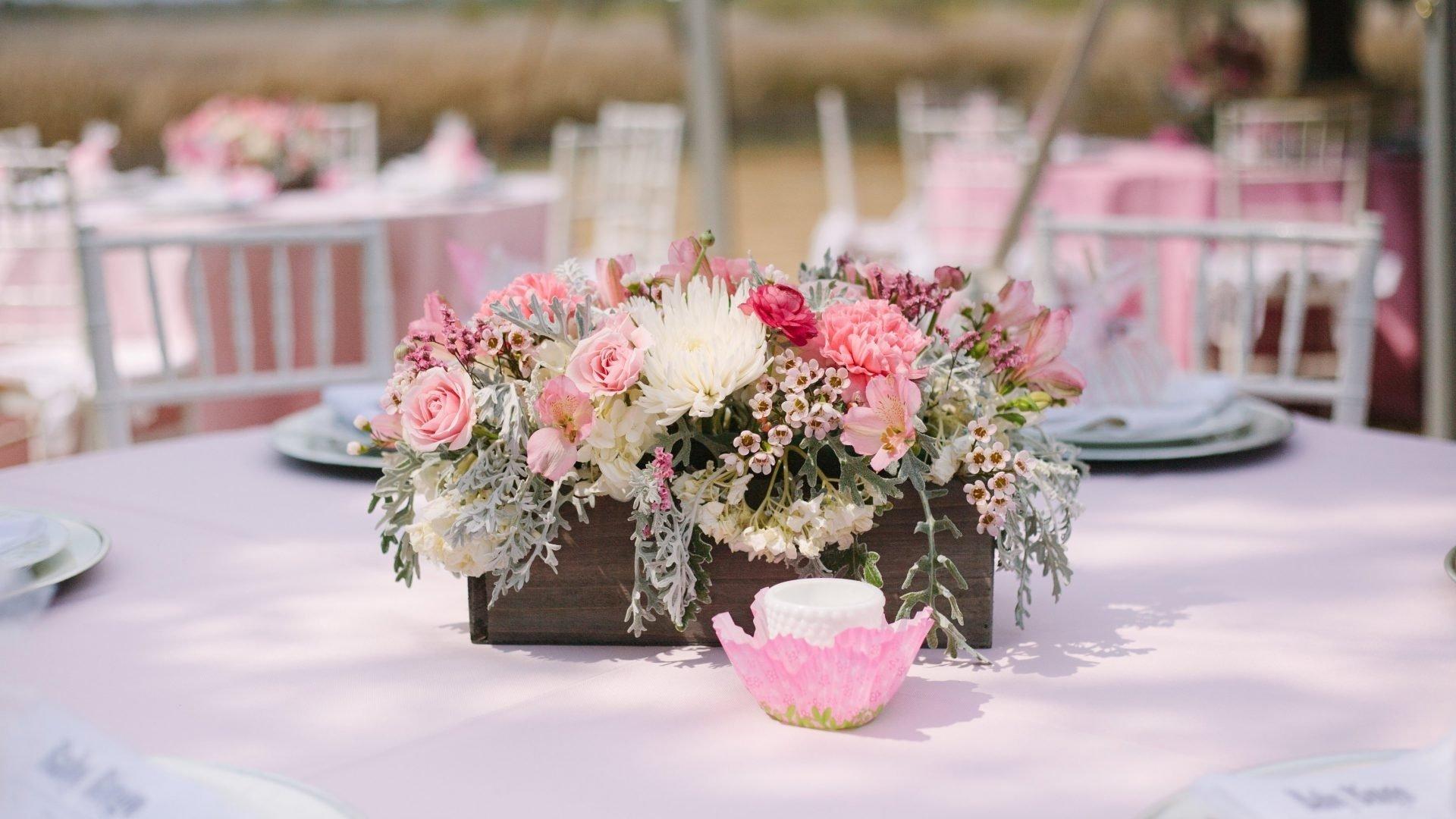 10 Fabulous Baby Shower Flower Centerpiece Ideas baby shower girl flowernts centerpieces floral literarywondrous