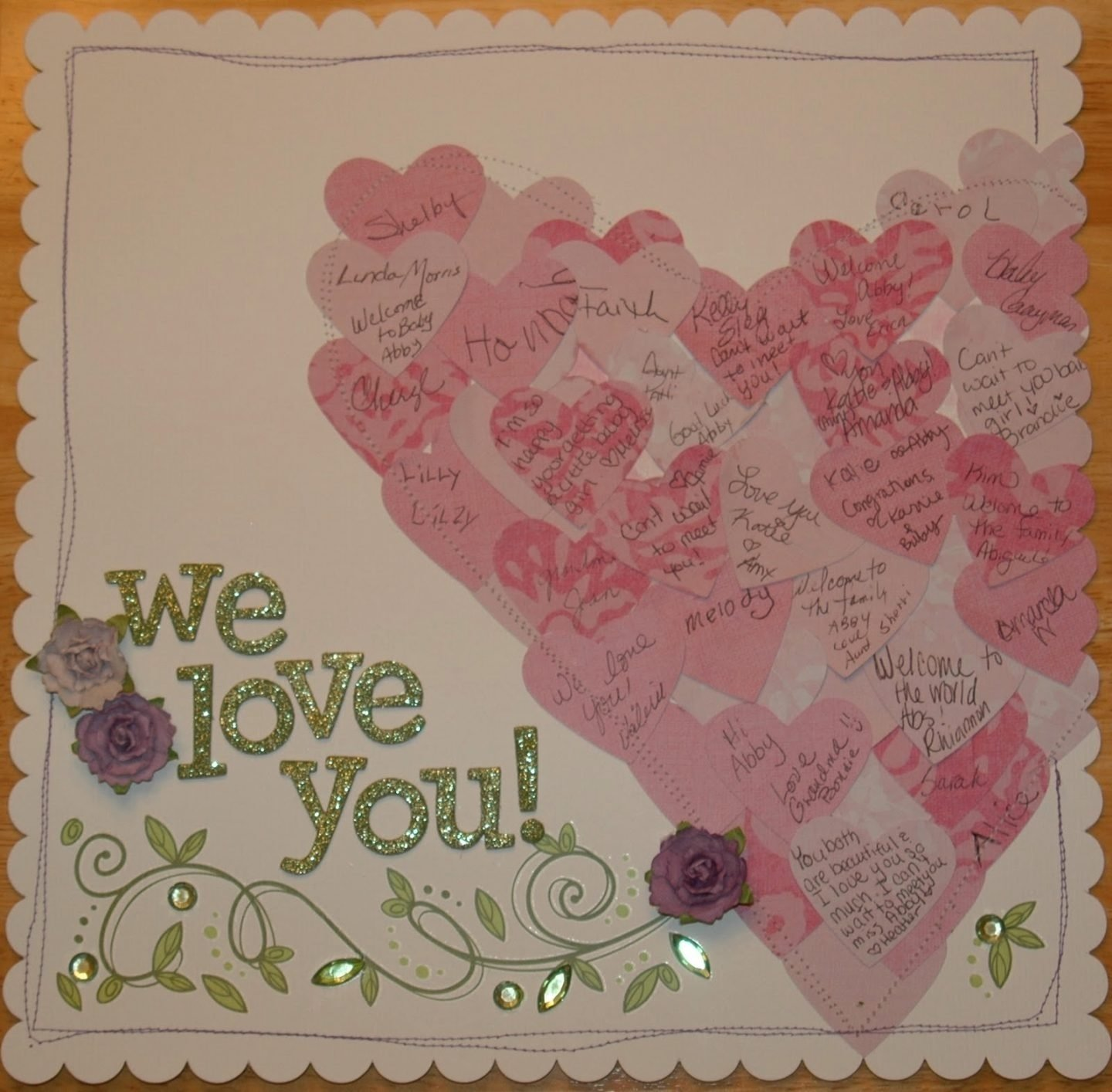 baby shower guestbook ideas amazing ideas #4 for my sister's baby