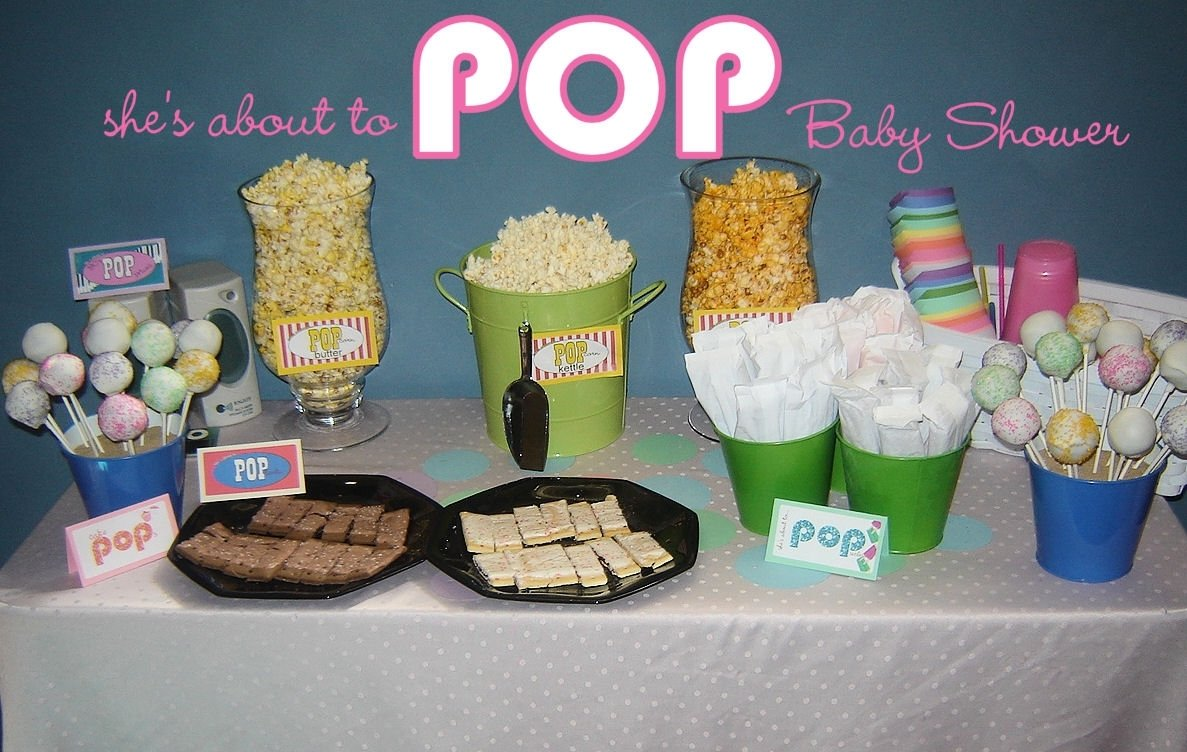 10 Attractive About To Pop Baby Shower Ideas baby shower idea shes about to pop 2020
