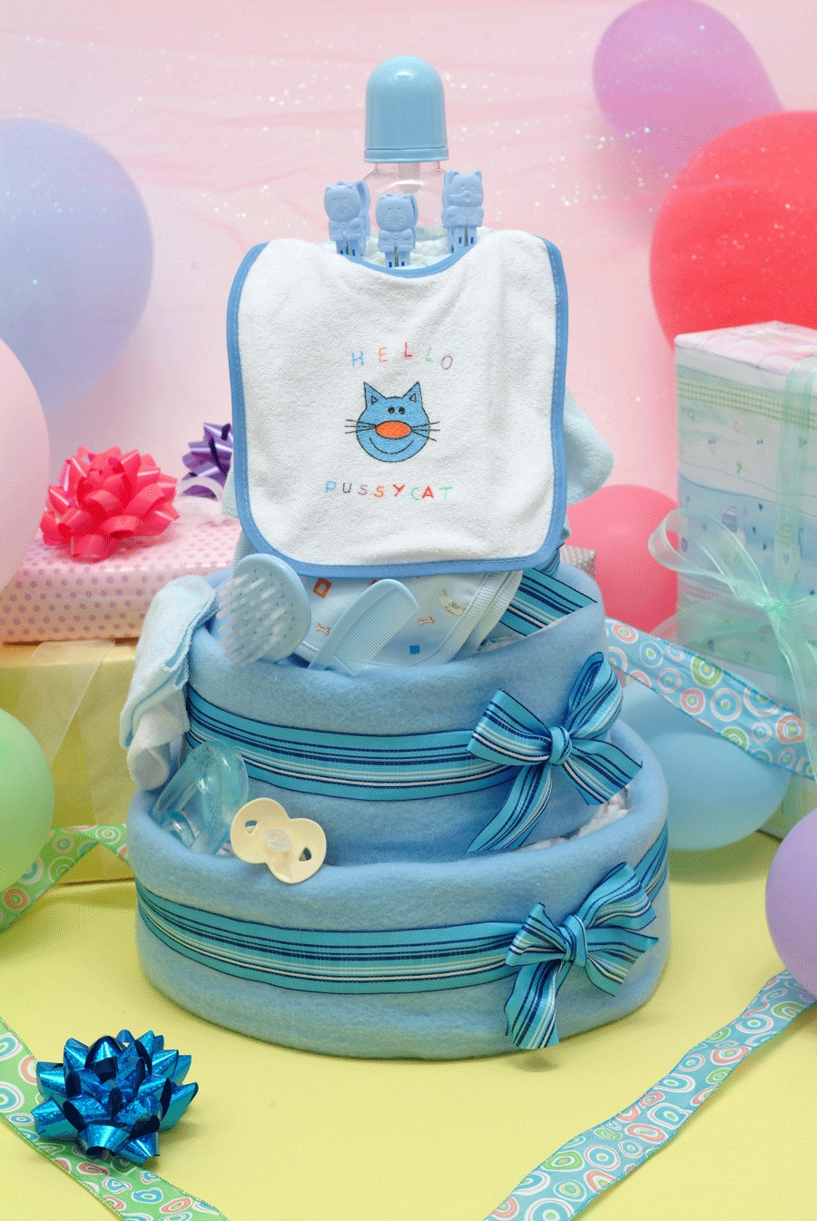 10 Pretty Diaper Ideas For Baby Shower baby shower ideas diaper party raffle prize decoration staggering 2020