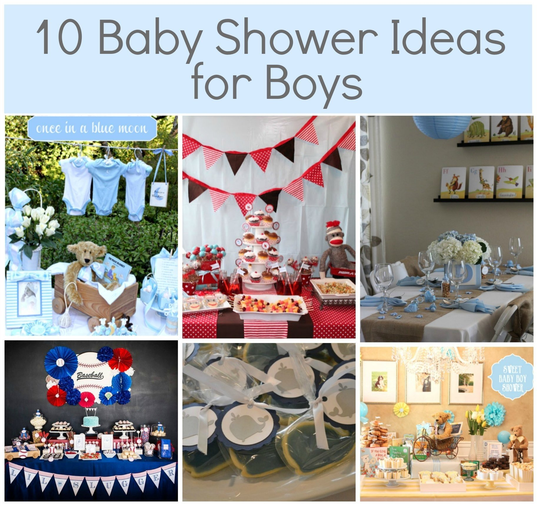 10 Perfect Baby Boy Baby Shower Themes Ideas Baby Shower Ideas For Boys  Themes Omega Center