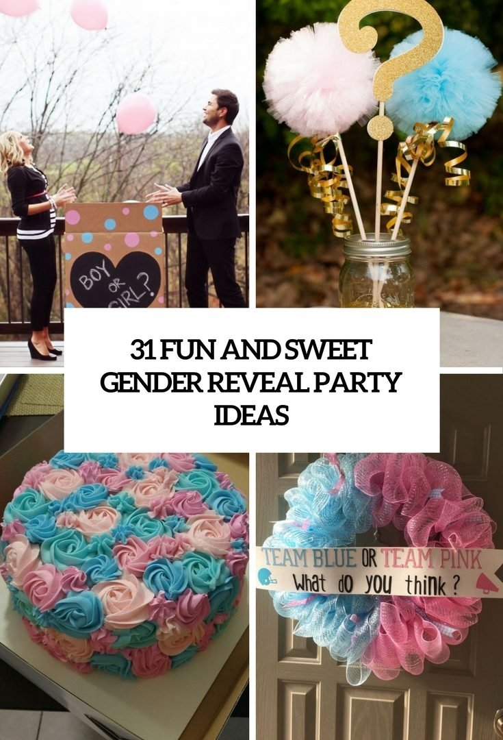 10 Trendy Gender Reveal Baby Shower Ideas baby shower ideas for gender reveal formidable cake table 1 2020