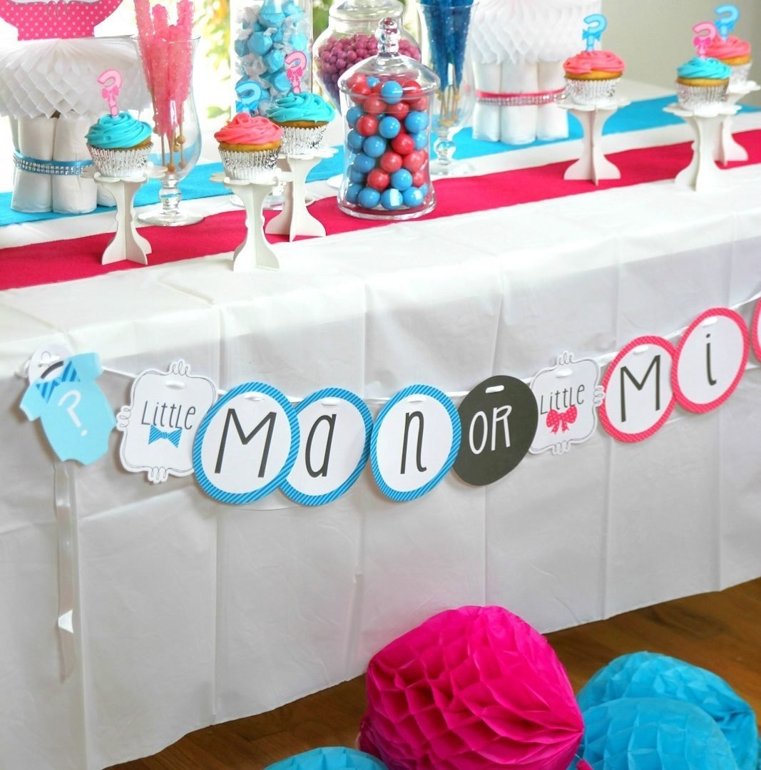 10 Most Popular Baby Shower Gender Reveal Ideas baby shower ideas for gender reveal formidable cake table 2020