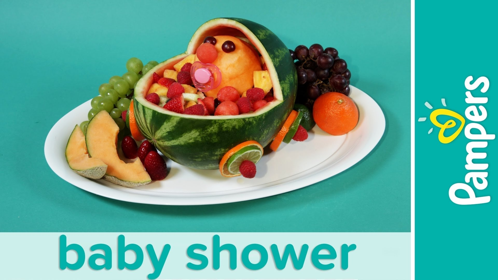 10 Beautiful Fruit Ideas For Baby Shower baby shower ideas stroller fresh fruit salad recipe pampers youtube 2020