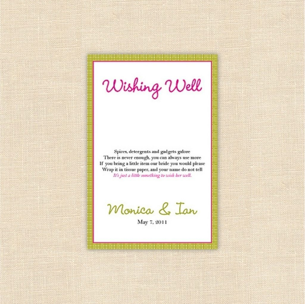 10 Fantastic Baby Shower Wishing Well Ideas baby shower invitation baby shower wishing well invitation wording 2020