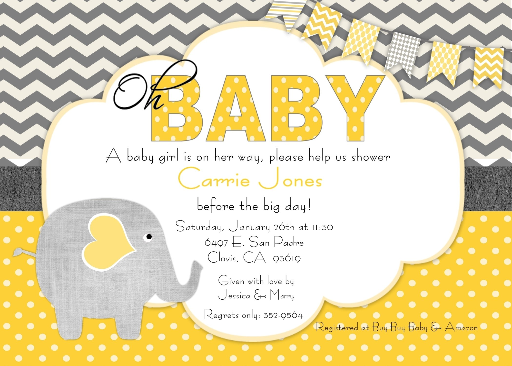 10 Attractive Invitation Ideas For Baby Shower baby shower invitation ideas kinderhooktap 2020