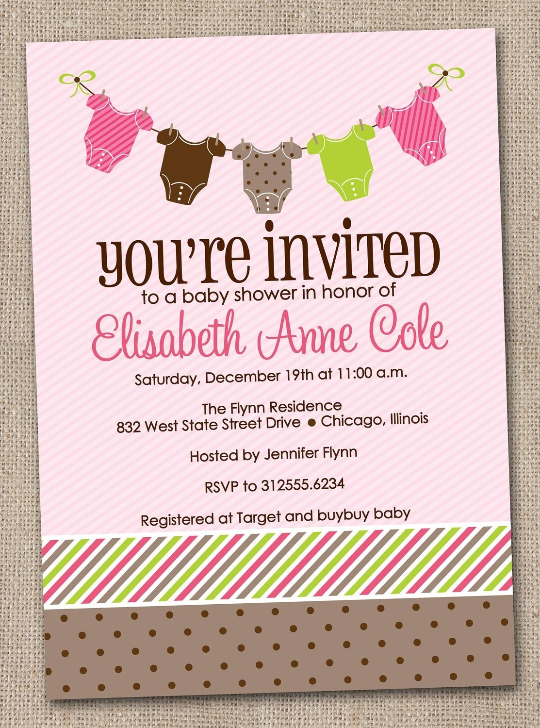 baby shower invitation wording ideas for girl | baby shower ideas