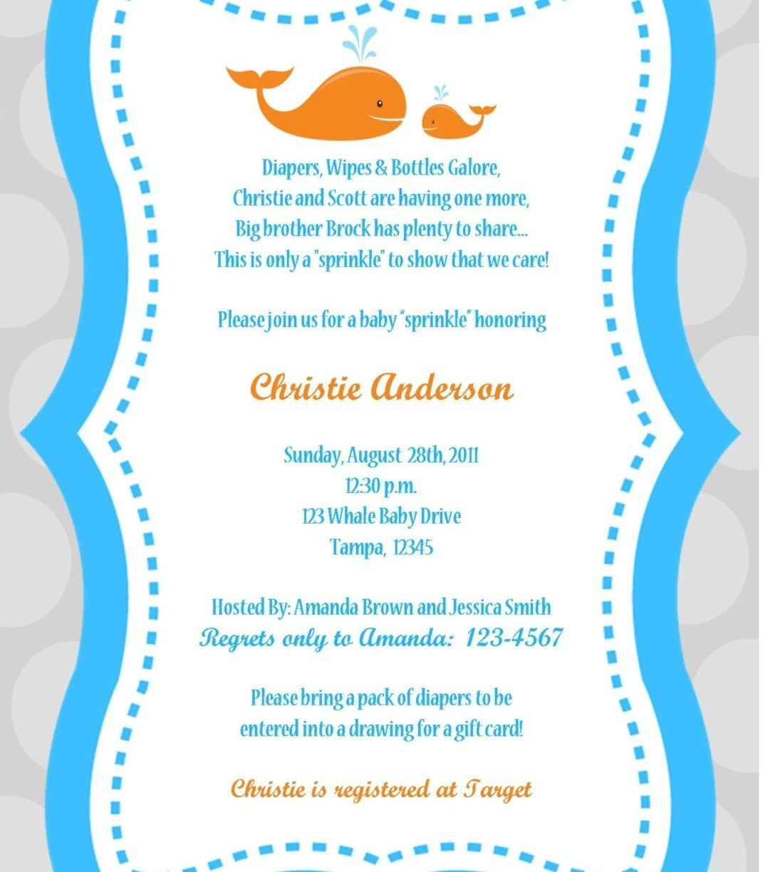 10 Lovable Boy Baby Shower Invitations Wording Ideas baby shower invitation wording twins boy girl for template free 2021