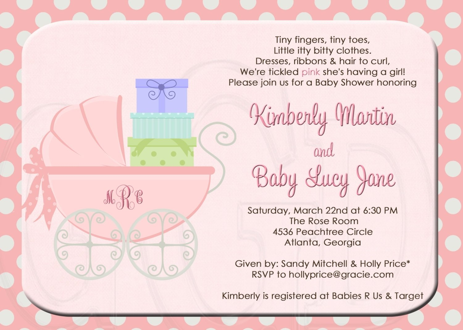 baby shower invitation words - coles.thecolossus.co