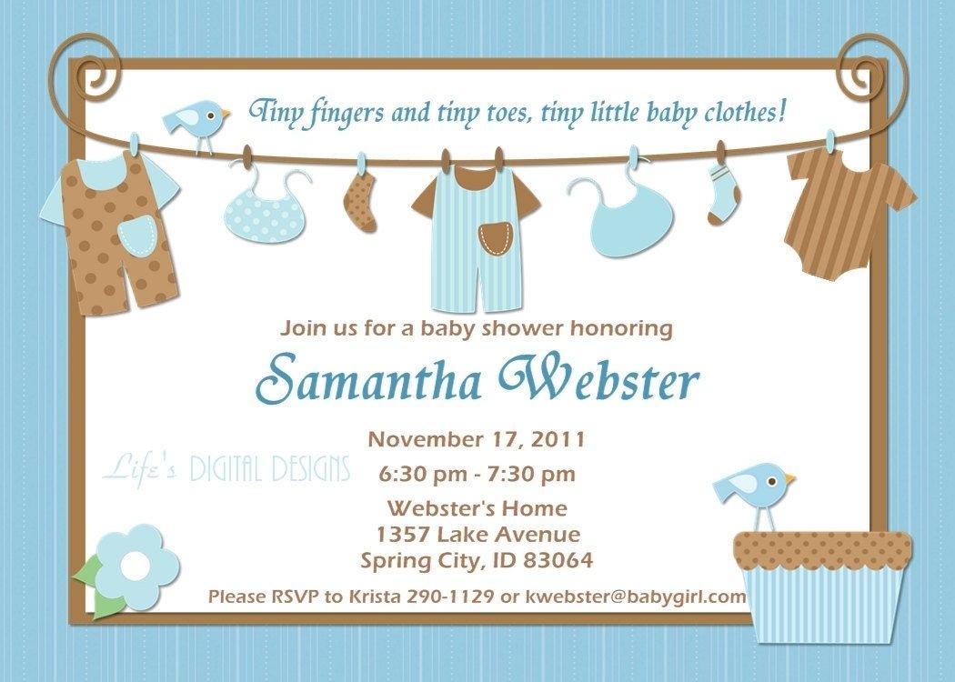 10 Lovable Boy Baby Shower Invitations Wording Ideas baby shower invitations for boy girls baby shower invitation 2021