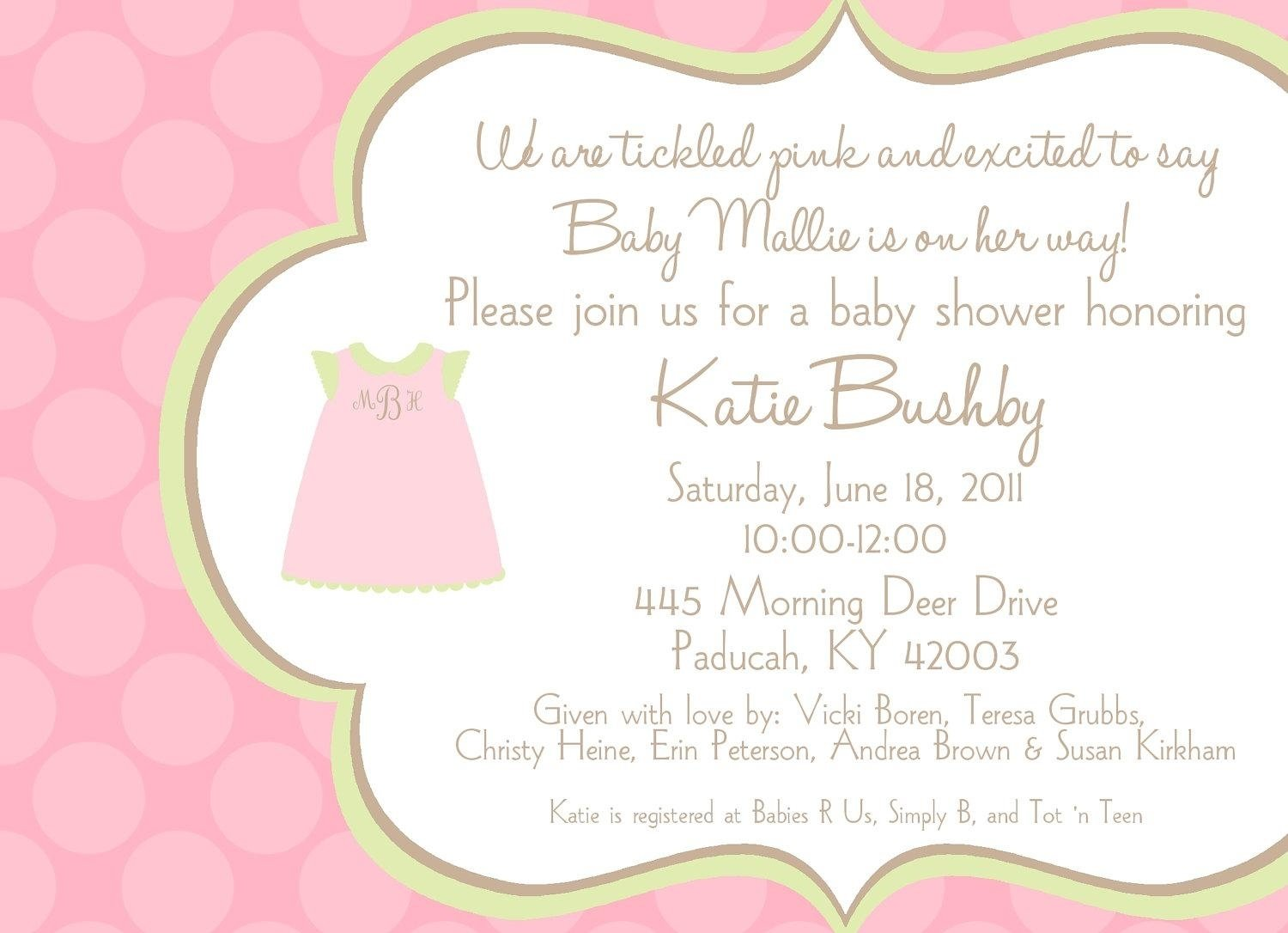 10 Most Popular Cute Baby Shower Invitation Ideas