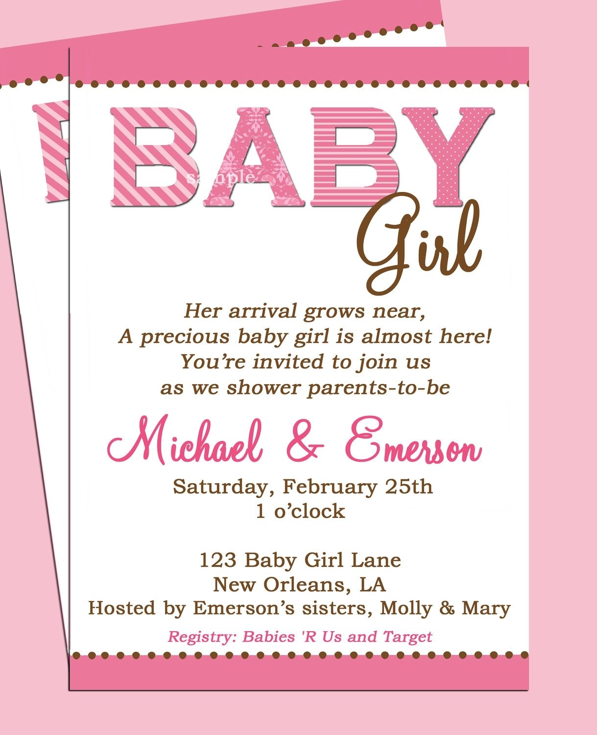 10 Most Popular Cute Baby Shower Invitation Ideas baby shower invite words coles thecolossus co 1 2020