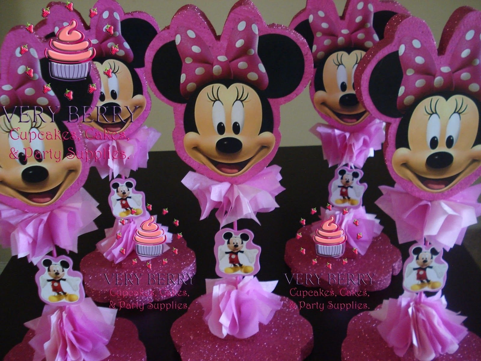 10 Trendy Minnie Mouse Table Decorations Ideas baby shower minnie mouse baby shower favors minnie mouse table 2020