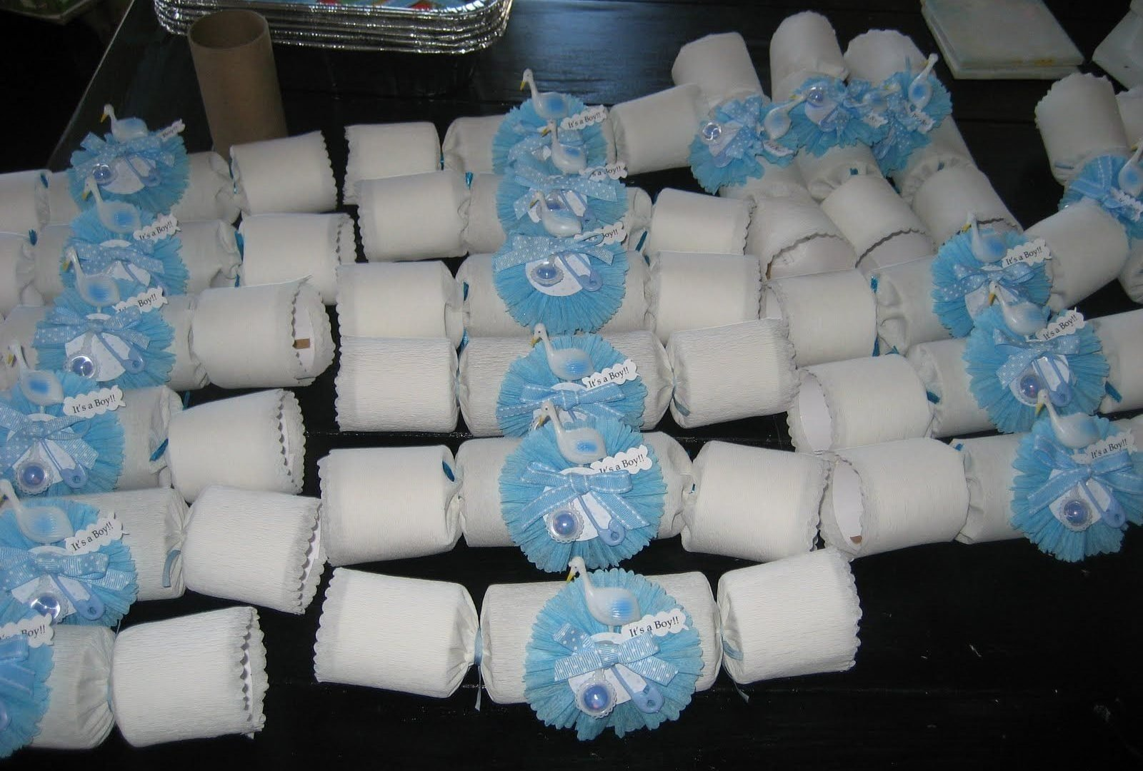 baby shower party favors ideas for boy cheap decoration homemade