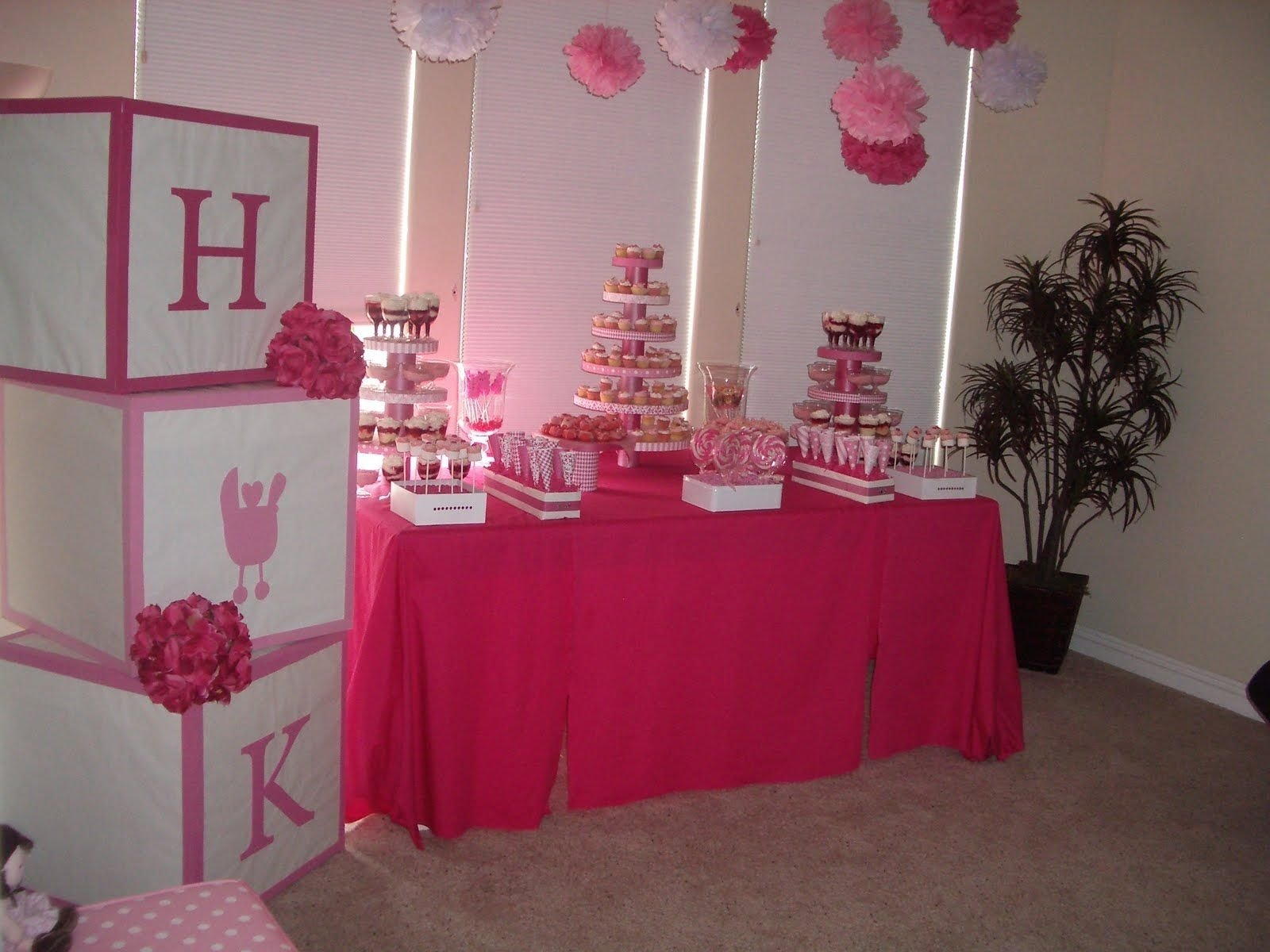 10 Unique Girl Baby Shower Decorating Ideas baby shower party ideas my friend jen threw an a m a z i n g baby 1 2020
