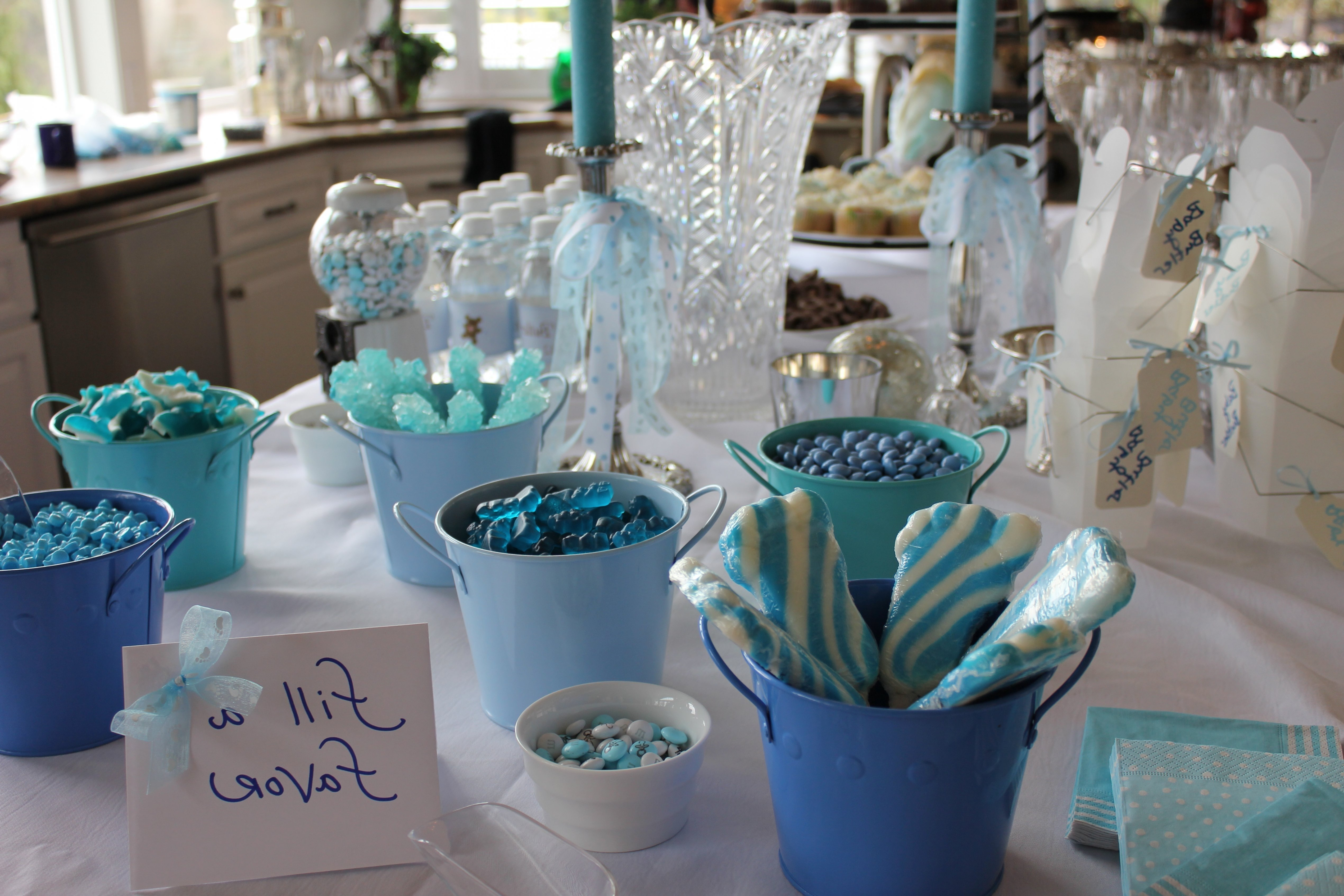 10 Great Ideas For Baby Boy Shower baby shower table boy baby shower table decoration ideas baby boy 2020