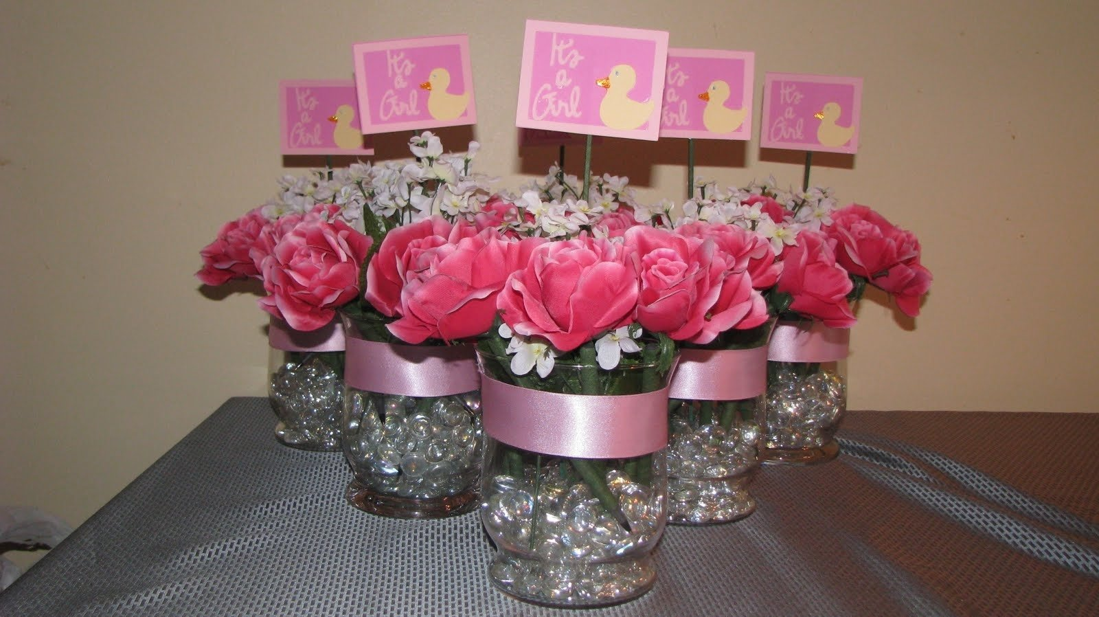 baby shower table centerpiece ideas unique gift cheap bridal